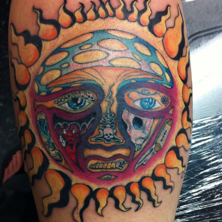 Sublime Sun Tattoo