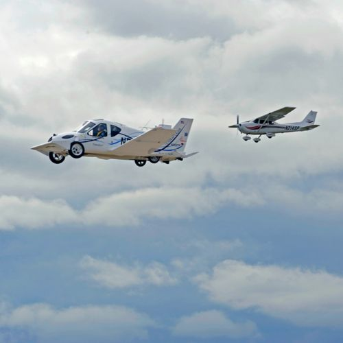 Car/Plane Hybrid Vehicle