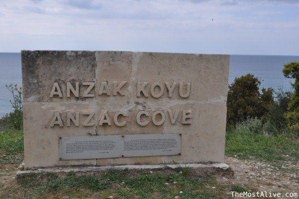 Anzac cove Gallipoli