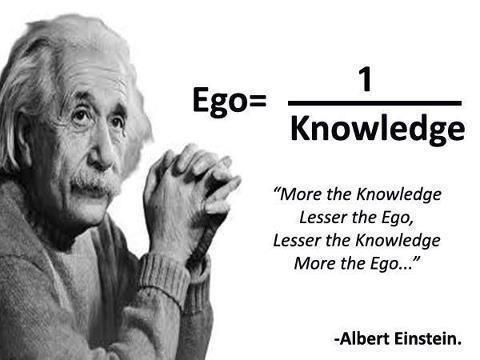 ego, quotes, and knowledge afbeelding