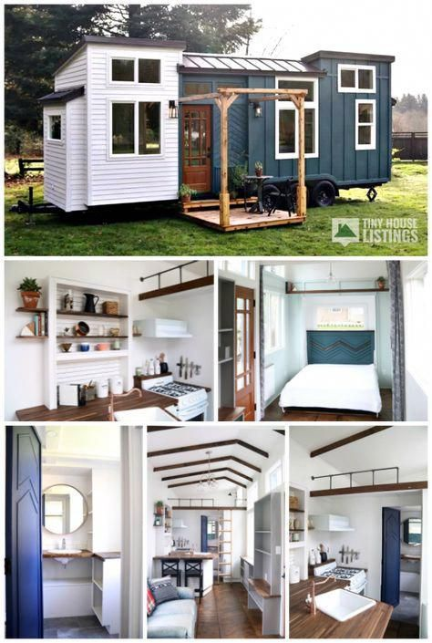 Tiny Home Designs: The Pacific Getaway Is The Latest Custom Tiny Home From