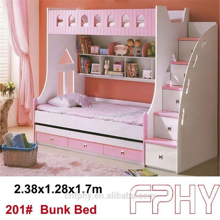 Fabrica de suministro fphy moderno juego de dormitorio infantil muebles baratos literas camas para niños-en Camas de Mobiliario para dormitorio en m.spanish.alibaba.com.