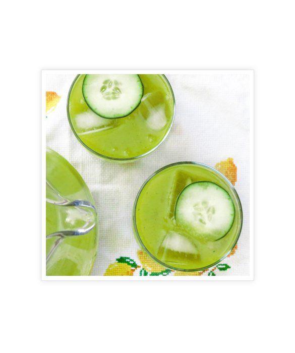 Agua de Mango y Pepino |