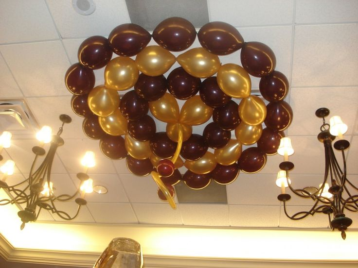 1000 images about balloon structures on pinterest for Balloon decoration for ceiling