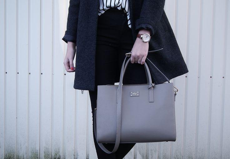 GRACE in taupe by nordictalking. #ecofashion #handbag #beliya