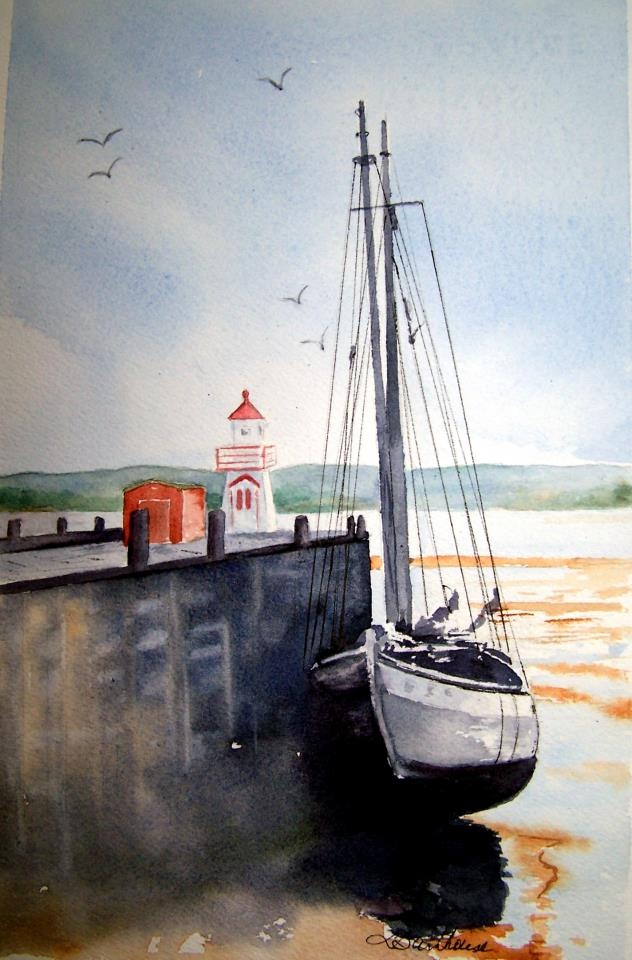 Low Tide-Kingsport - Linda Barkhouse