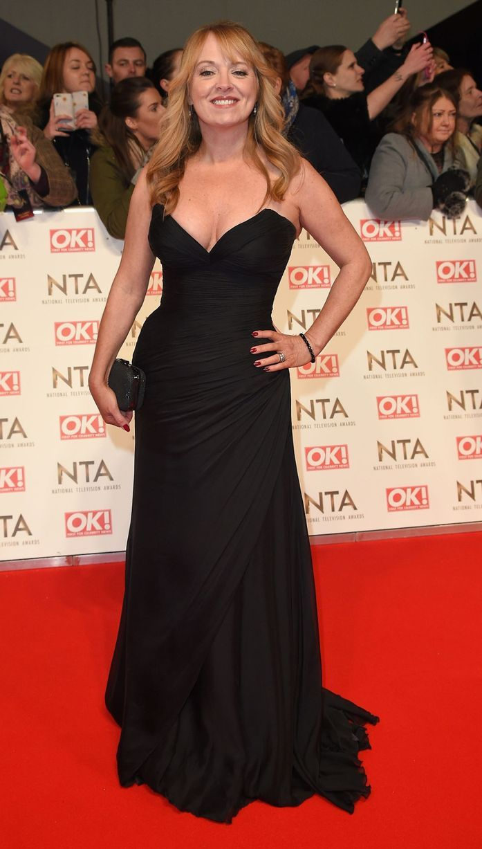 Sally Ann Matthews attends the National Television Awards on January 25, 2017 in London