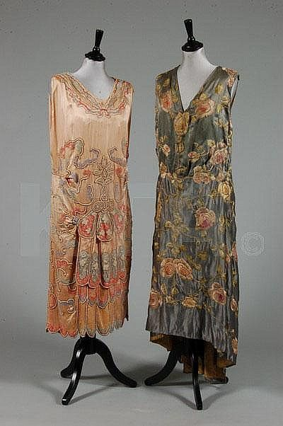 Evening dresses, 1920s