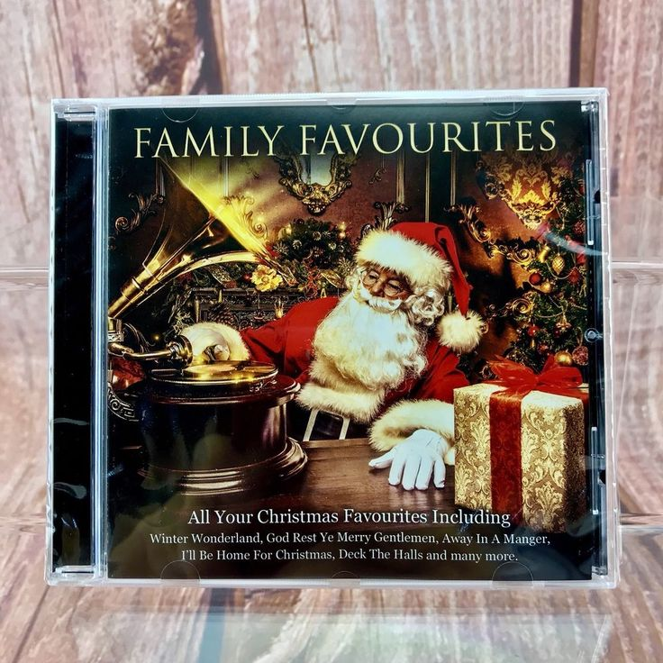 Christmas Cd All Your Family Favourites 20 xmas songs party kids holidays music