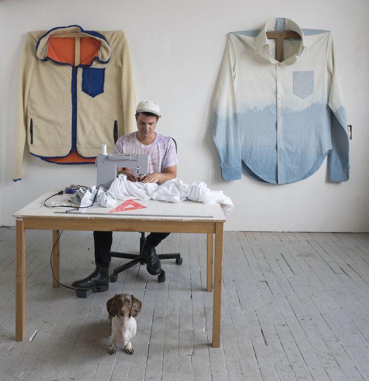 James Viscardi Turns Patagonia Fleeces into Self-Portraits