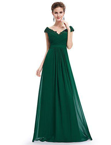 Vampal Emerald Green V Neck Bridesmaid Dresses With Beaded Lace Applique 10 Emerald Green Vampal http://www.amazon.com/dp/B0194WSKSS/ref=cm_sw_r_pi_dp_MnLOwb0WC0CKH