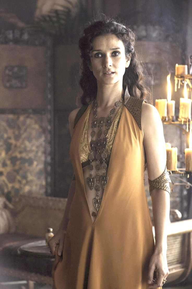 """Ellaria Sand is the beloved paramour of Prince Oberyn Martell, and the mother of the four youngest """"Sand Snakes,"""" Oberyn's bastard daughters. Ellaria herself is the bastard daughter of Lord Harmen Uller, a nobleman of Dorne. Ellaria is referred to as worshiping a Lysene love goddess, and was also described by Oberyn as being sexually adventurous and bisexual."""