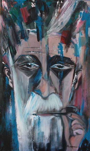 """Saatchi Art Artist Florin Coman; Painting, """"Old Sailor"""" #art"""