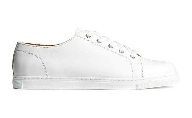 Tennis blanches H&M pour homme #sneakers #peah