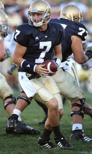 Jimmy Clausen Notre Dame quarterback alumni