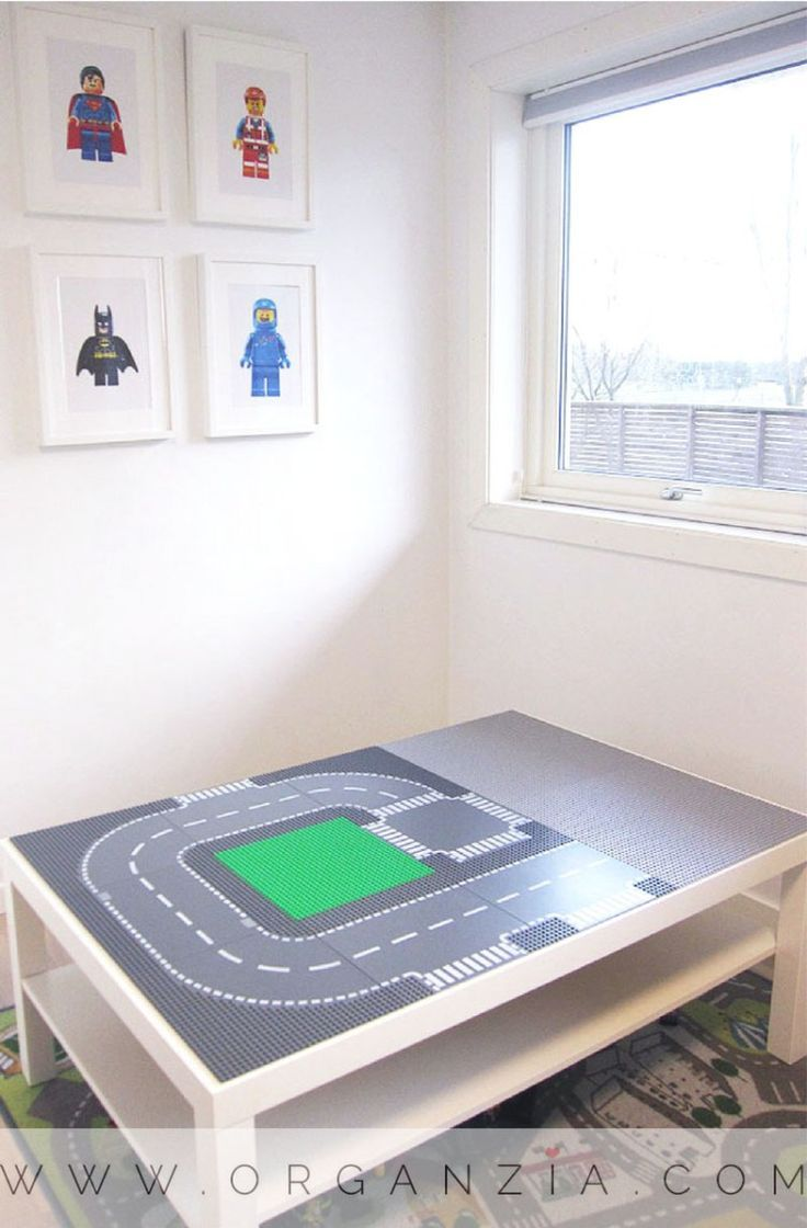 Make your own DIY Lego table, simple Ikea hack. Simple tutorial. #DIY #lego #legotable #Ikea #Ikeahack