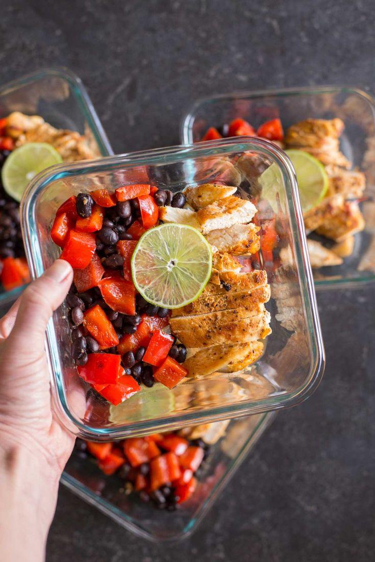Healthy Southwestern Chicken Bowls