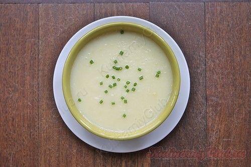 Картофельный суп с луком-пореем on http://kulinarniyclub.ru Potato soup