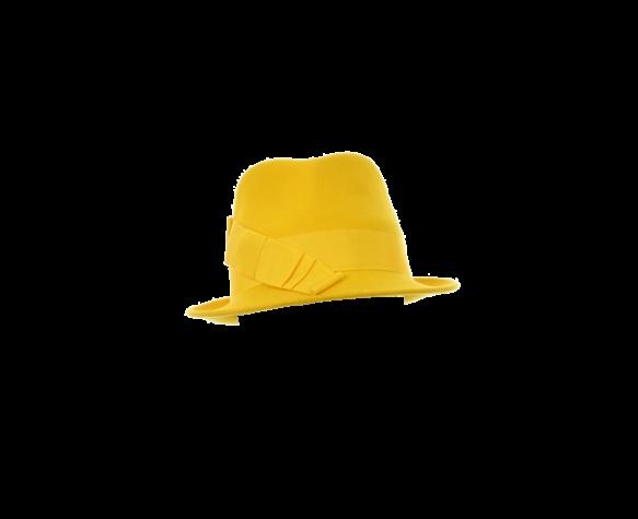 philip-treacy-london-yellow-trilby: Philip Treacy