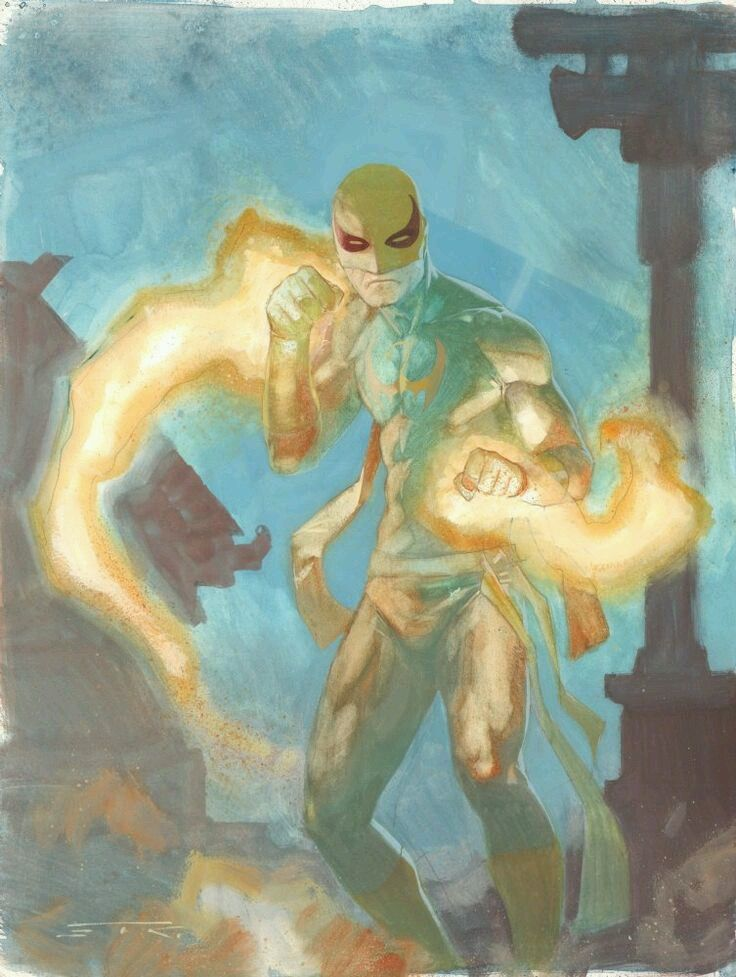 Iron Fist by Esad Ribic Bradmin