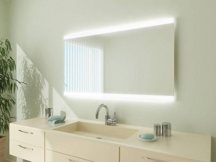 Unique Badspiegel mit LED Beleuchtung Miami MLH