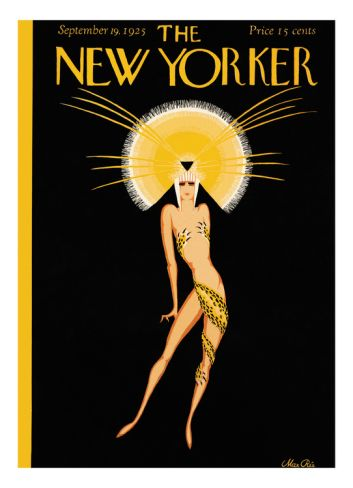 The New Yorker Cover - September 19, 1925 Giclee Print by Max Ree at Art.com  via blossomgraphicdesign.blogspot.com