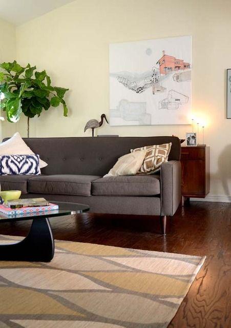 Die 82 besten Bilder zu Home decor auf Pinterest Grau - wohnzimmer ideen braune couch