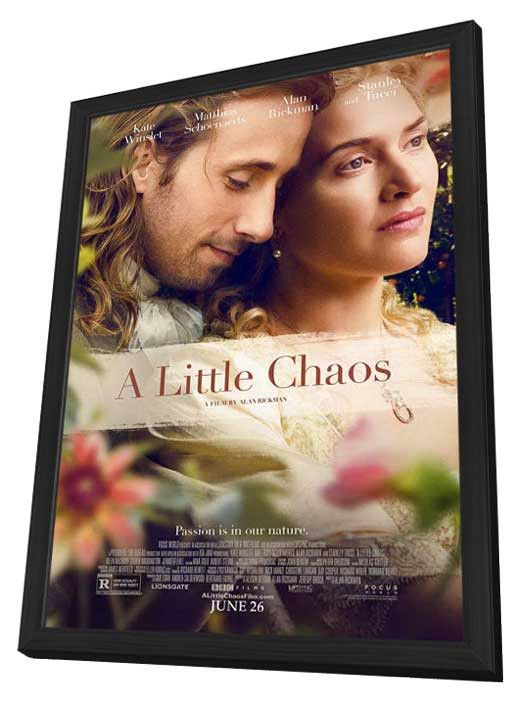 A Little Chaos 27x40 Framed Movie Poster (2014)