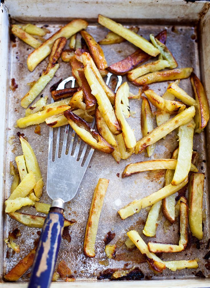 These chips, made from baking potatoes, are a classic family favourite. We've used beef-dripping in this tasty recipe.