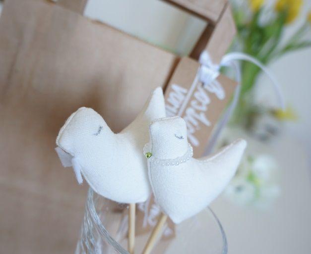 wedding cake birds