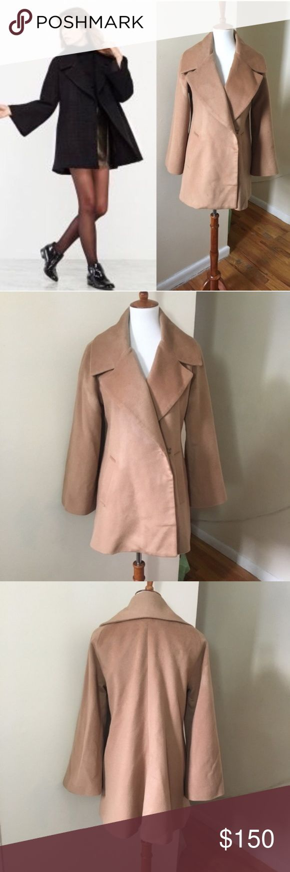 RARE Reformation Fisher Coat *REPOSH* too small in arms for me ; (  Excellent condition Very rare Reformation Fisher Coat Size Large  Size and fabric ...