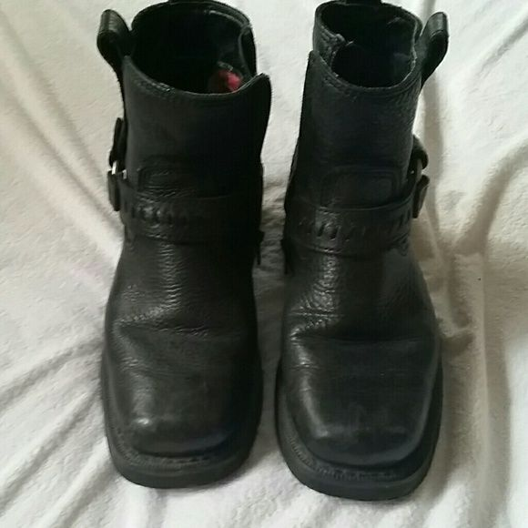 Harley Boots Ladies Harley  boots Harley-Davidson Shoes Combat & Moto Boots