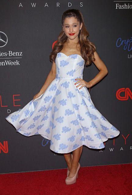 Los mejores vestidos de fiesta de Ariana Grande