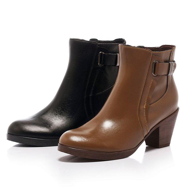 $3090-Fair Lady 英式貴族率性粗跟短靴 摩卡 - Yahoo!奇摩購物中心