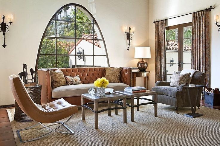 #InteriorInspiration Spanish Colonial Residence by Jonathan Winslow Design