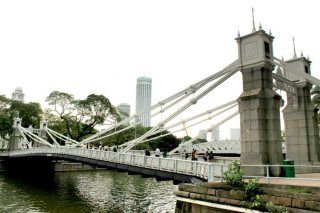 """Singapore River Route - Singapore Footprints """"friendly student volunteers offer free walking tours"""""""