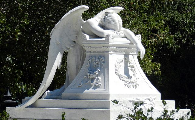 Grieving angel.
