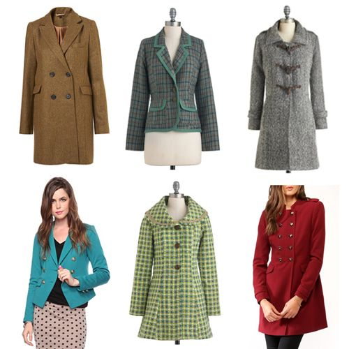 Whether it's everyday wool, luxe cashmere or fancy silk, a knee-length coat that's nice enough to wear with all your best dresses and skirts is a must. Every woman should own a fitted (right for your body) blazer coat because it looks chic and professional.
