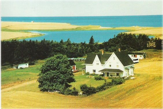 Grandfather Montgomery's house that was inspiration for Ingleside - Anne of Green Gables