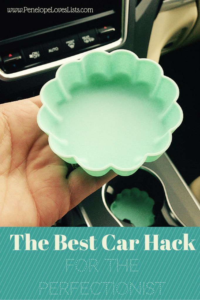 An End to Cupholder Schmutz :: A Car Hack for the Perfectionist