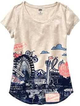 Girls Road Trip Graphic Tees | Old Navy