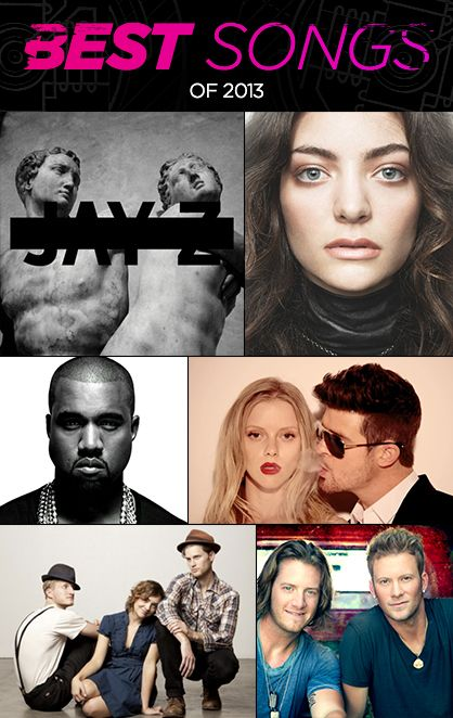 Hottest Songs of 2013