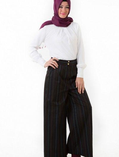 The Kendira Pantolon Etek P1995-8 Siyah