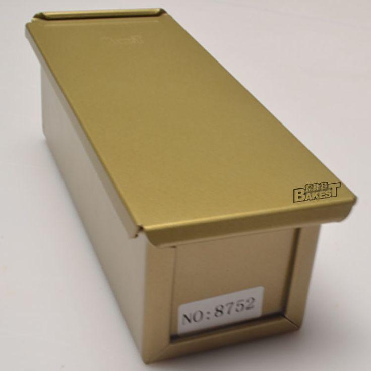 Купить товарBakest золотой тост коробки небольшие слитки хлеб формы прямоугольник нет полосы голова не кастрюли # 8752 в категории Противни для хлебана AliExpress.