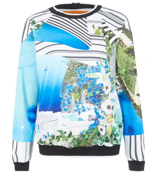Floral sweatshirt from liberty