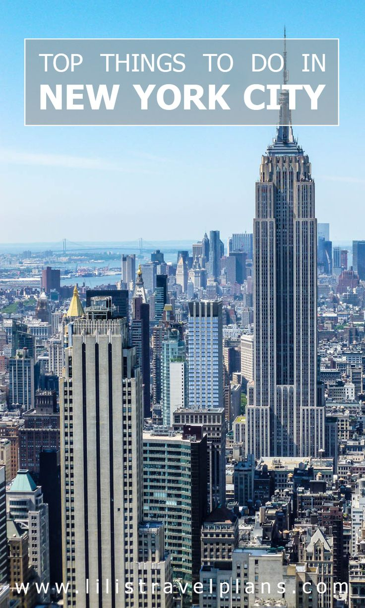 CITY GUIDE: The best things to do in New York City