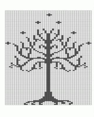 White Tree of Gondor - KNITTING old lady Pinterest White trees, The whi...