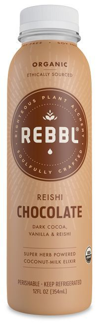 Reishi Chocolateis an example of REBBL's variety of health conscious products that use super herbs and exemplify fair trade practices.