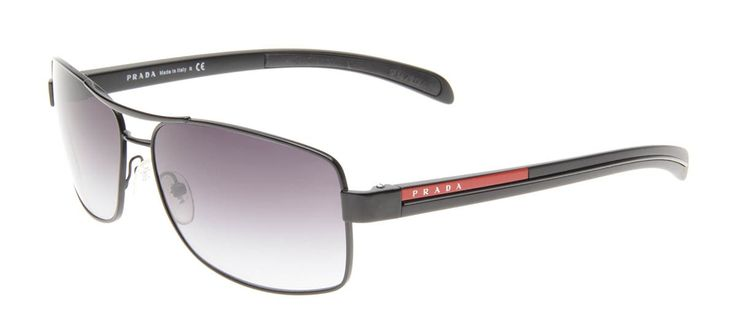 Prada SPS50L- Preto - Óculos de Sol Masculino - Óculos de Sol