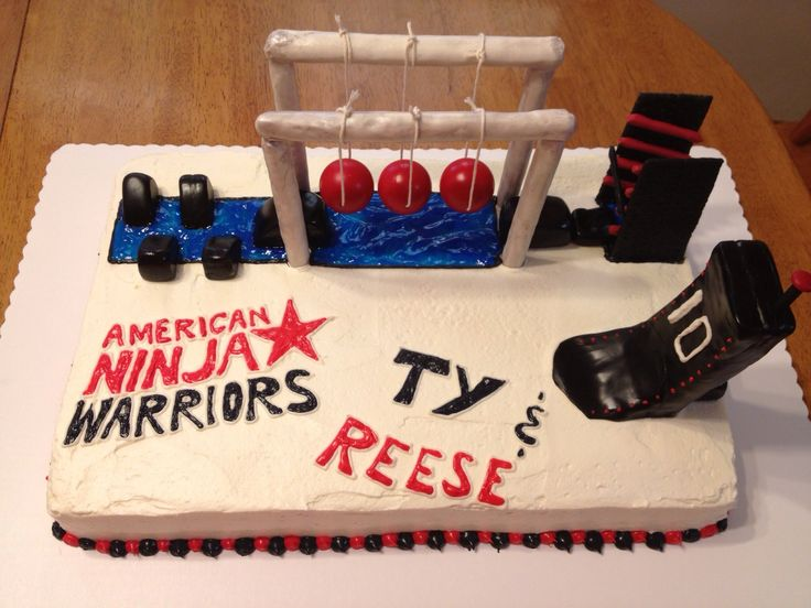 American Ninja Warrior My Cakes Pinterest This Is